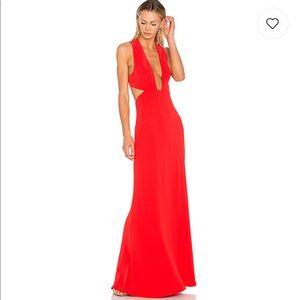 4f005b5fbc ... NBD Yani Dress Red ...